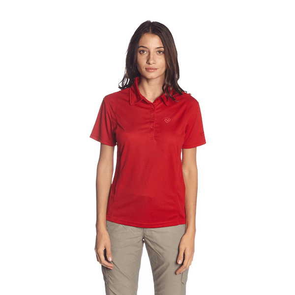 REMERA  COOLDRY TEA POLO MUJER