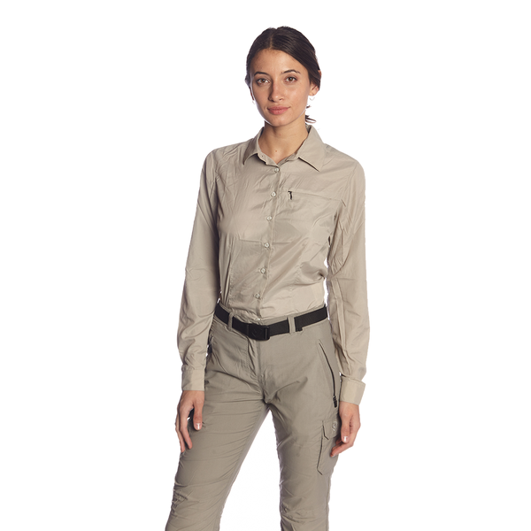 CAMISA PRO DRY ROLL UP MUJER
