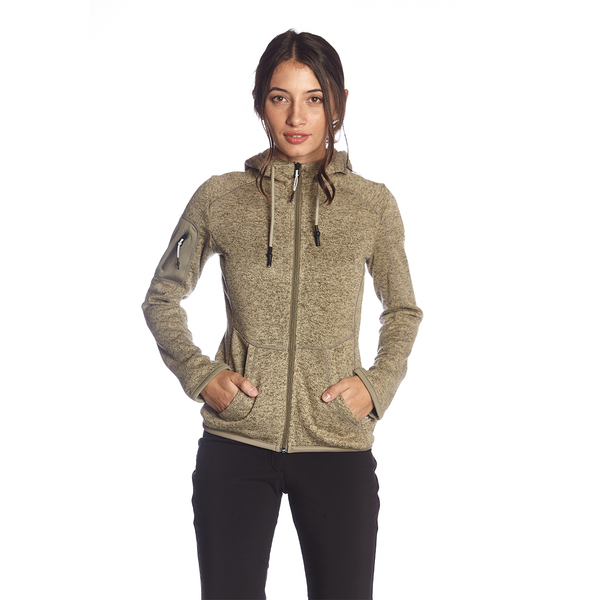 LEVANA FLEECE HOOD JACKET