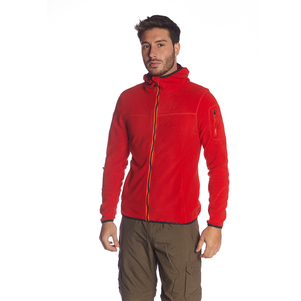 CORO FLEECE HOOD JACKET