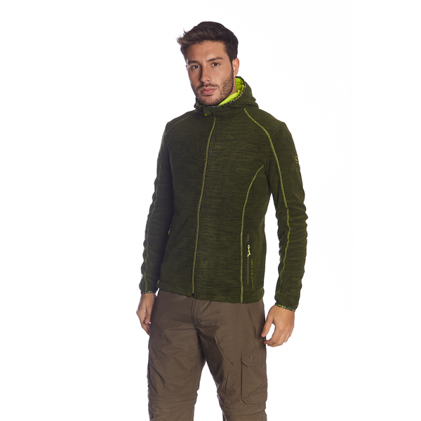 MARINO FLEECE HOOD JACKET