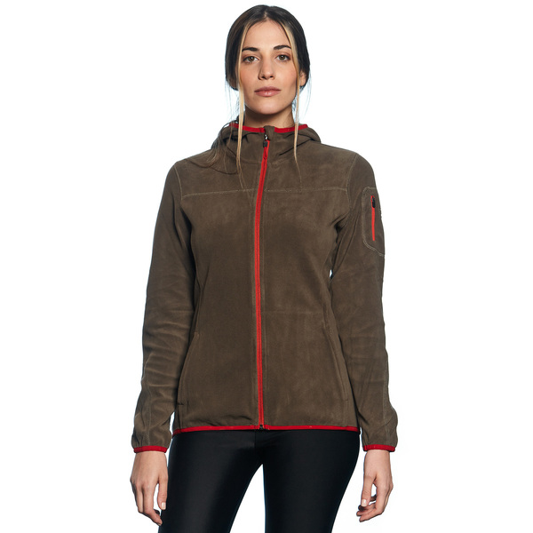 CORA FLEECE HOOD JACKET
